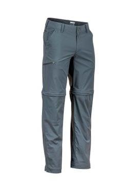 Треккинговые штаны удобнее всего брать с функцией превращения в шорты